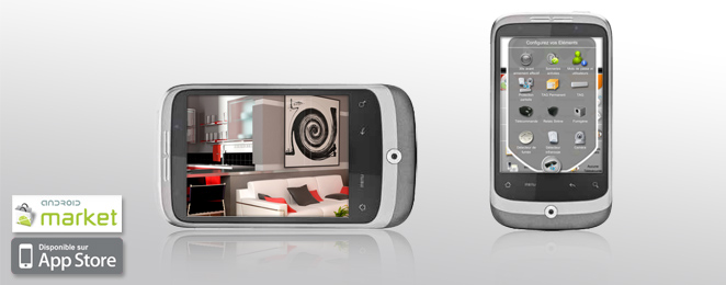 contr le et vid o surveillance distance domotag syst me alarme sans fil. Black Bedroom Furniture Sets. Home Design Ideas